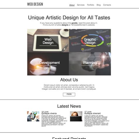 Holding Company Website Template by Design Studio Responsive Website Template