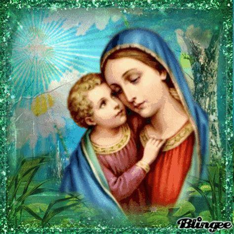 imagenes virgen maria con jesus virgen maria jesus picture 135148154 blingee com
