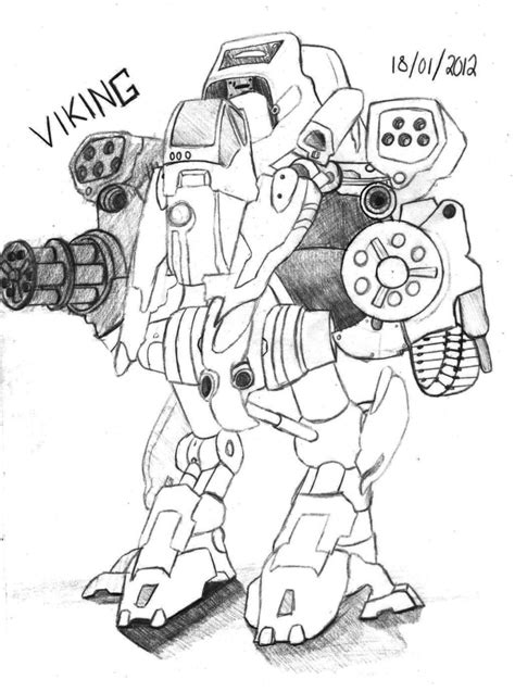 starcraft 2 viking by scribbleb o x on deviantart