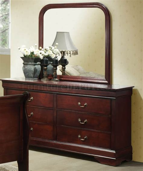 cherry finish mediterranean classic 5pc bedroom set w rich cherry finish classic 5 pc bedroom set w queen size bed