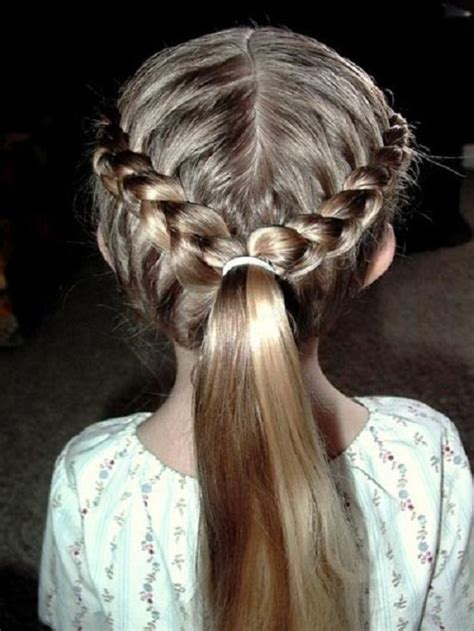 pretty hairstyles using braids pretty little girls hairstyles braids