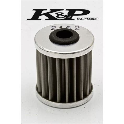 k p stainless steel reusable filter mx kawasaki suzuki 250cc 450cc 2162