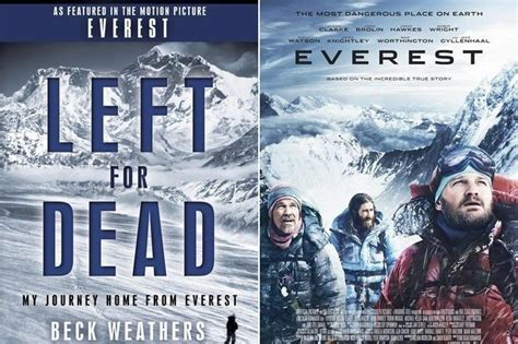 film everest based on book 1 left for dead by beck weathers movie title everest