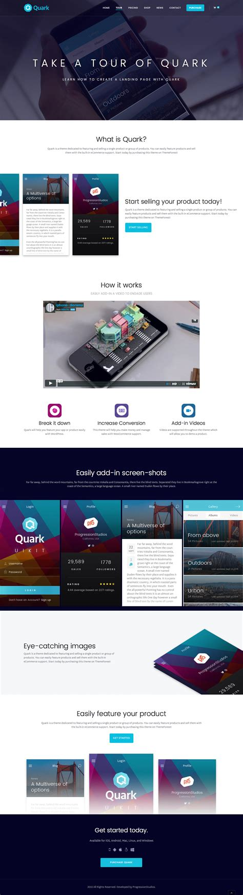 shopify themes single product quark single product shopify theme by masstechnologist