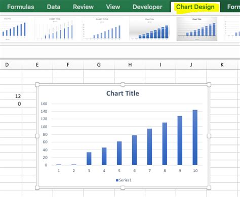 chart layout excel mac chart design tab is now missing on excel for mac