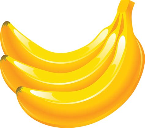 yellow banana clipart clipart suggest