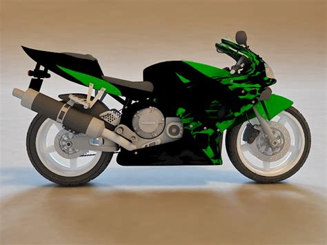 honda cbr bike models honda cbr sport bike 3d model 3d studio 3ds max object