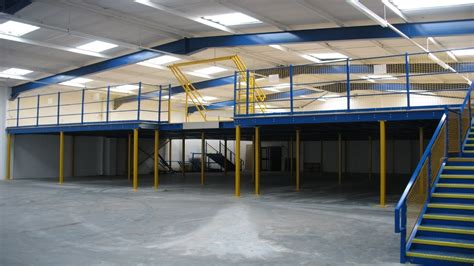 expand your business with a mezzanine floor krost shelving