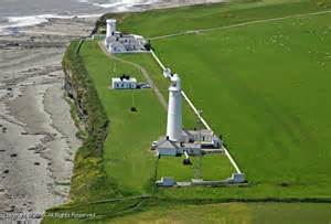 Lighthouse Cottages To Rent by Nash Point Lighthouse St Donats Wales United Kingdom