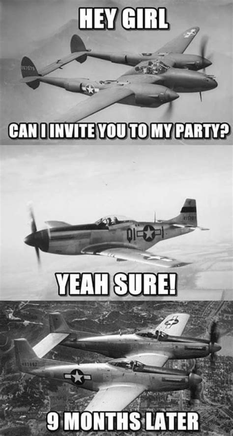 World War II in Pictures and Memes - Aviation Humor