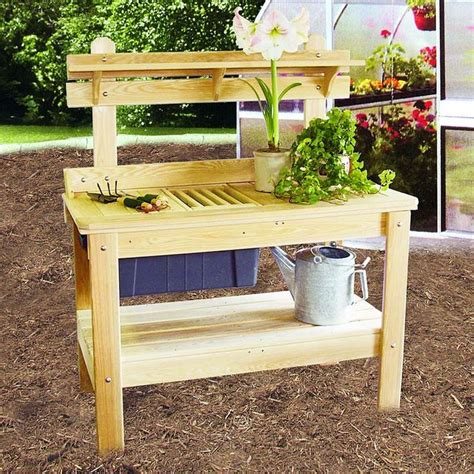 outdoor potting bench plans 103 best potting bench images on pinterest outdoor