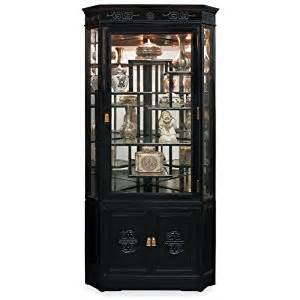 Black Curio Cabinet Corner Amazon Com 27in Longevity Design Rosewood Corner Cabinet