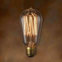 vintage style light bulbs bulbrite 134019 40w nostalgic edison squirrel cage style