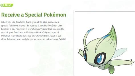 Celebi Giveaway - nintendo gifting celebi as first pokemon x y giveaway product reviews net