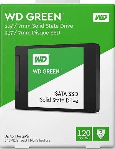 Jual Wd Green Ssd 240 Gb Sata Bergaransi western digital 120gb green sata iii 2 5 inch ssd drive wds120g2g0a buy best price