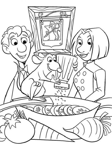 all ratatouille characters coloring pages batch coloring