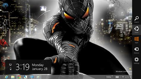 download spiderman themes for pc spiderman wallpapers for windows 7 wallpapersafari
