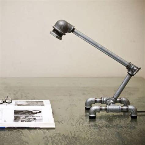 Lu Meja Pipa Retro Industrial Iron Water Pipe Desk L M001 creative table l designs captivatist