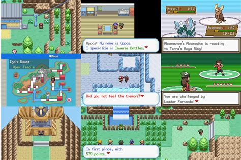 tutorial hack rom pokemon pokemon gaia map images pokemon images