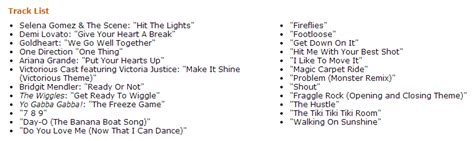song list 2013 get your family moving with justdancekids2014 crunchy
