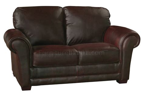 whiskey leather sofa mark sofa loveseat set in brown whiskey full italian leather