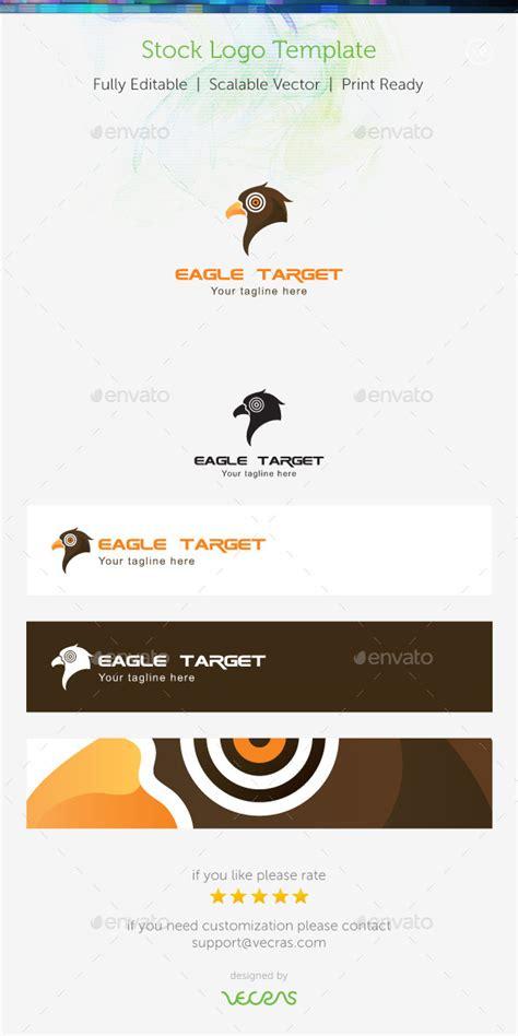 dafont zebulon logo template graphicriver eagle target stock logo