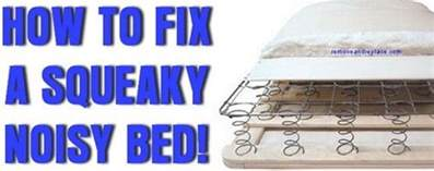 how to stop a squeaky box mattress