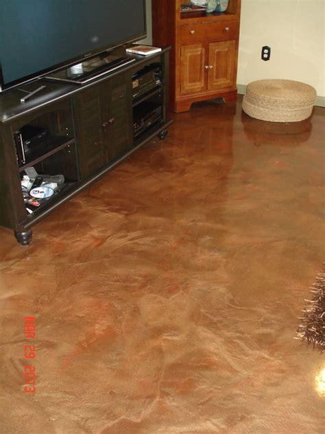 reflector metallic epoxy flooring omaha by aesthetic