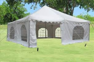20 By 20 Canopy For Sale by 20 X 20 White Pvc Pole Tent Canopy