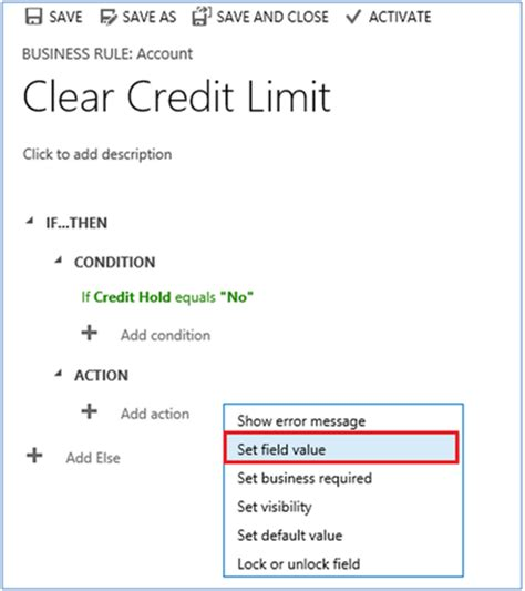 Maximum Credit Limit Formula Tips For Working With Business In Dynamics Crm 2015