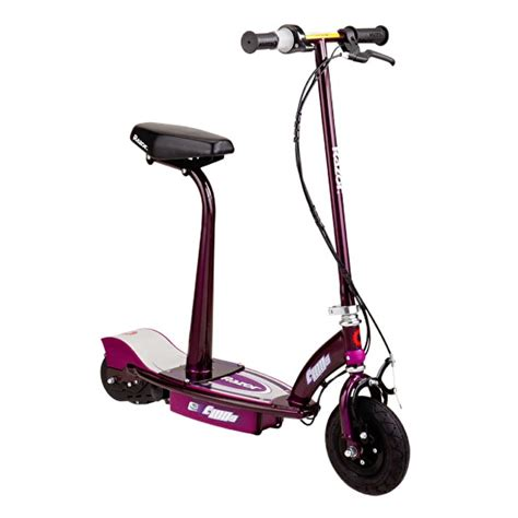 scooter with seat electric razor e100s electric scooter with detachable seat and post