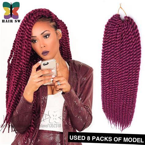 Big Twist Braids Hairstyles by Aliexpress Buy Big Twist Rope Synthetic