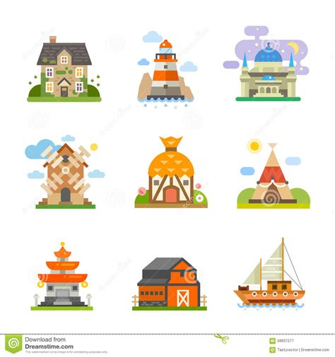 types of traditional houses traditional housing clipart clipground