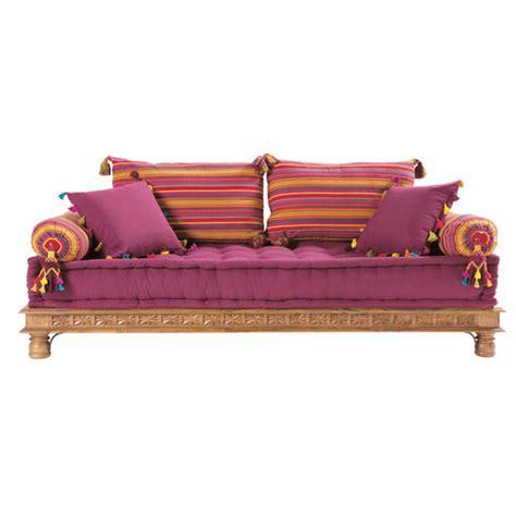 divano indiano divanetto indiano multicolore in cotone 2 3 posti