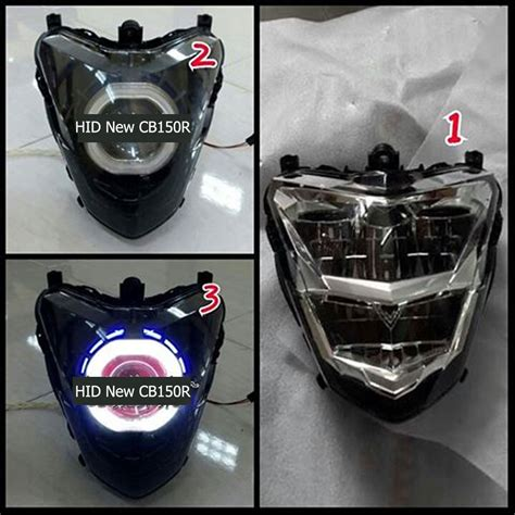 Lu Hid Motor Cb150r projie hid eye new cb150r led