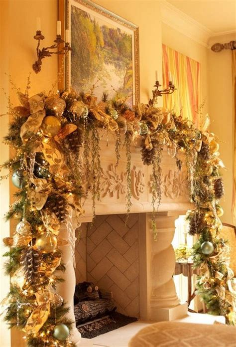 30 stunning christmas mantel decorating ideas feed