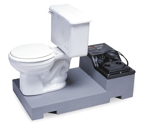 How To Install Toilet In Basement by Sanitary Crock