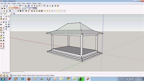 tutorial menggambar rumah dengan sketchup 3ds max dan sketchup tutorial bahasa indonesia
