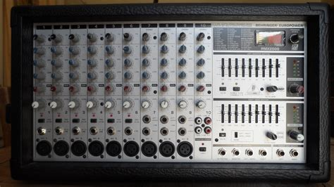 Power Mixer Behringer Pmx behringer europower pmx2000 image 584081 audiofanzine