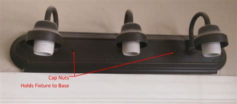how to remove light fixture in bathroom how to remove a bathroom light fixture how to get rid of rust on bathroom light