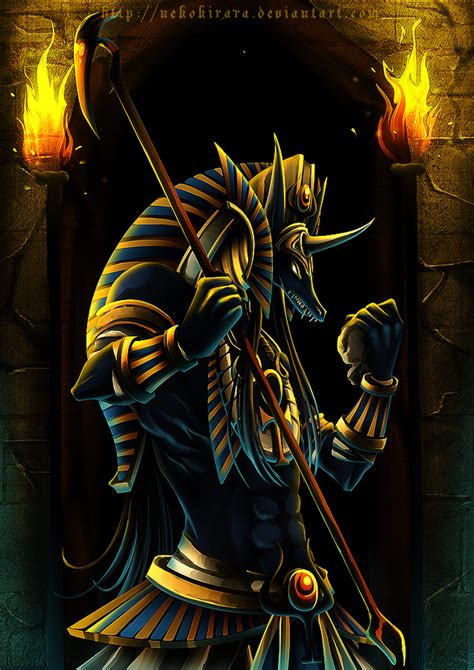 dark wallpaper egypt god of the dead anubis deviantart