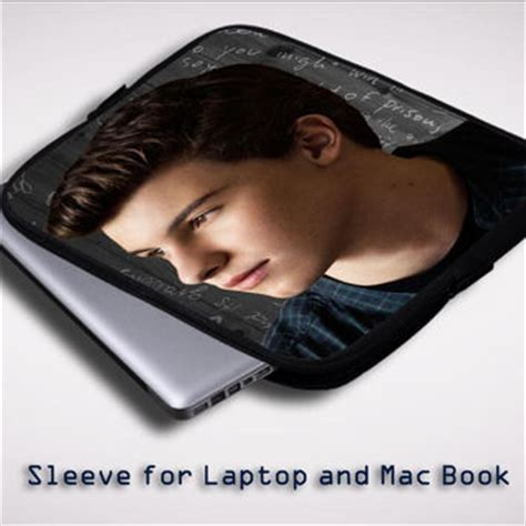 Note Book Shawn Mendez stitches shawn mendes sleeve for laptop from flazzstore