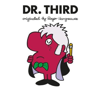 doctor who dr third roger hargreaves by adam