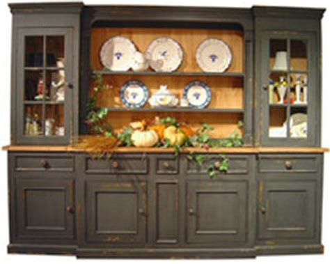 monmouth hutch large china cabinet country cottage style 9