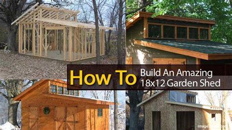 build  amazing  garden shed garden