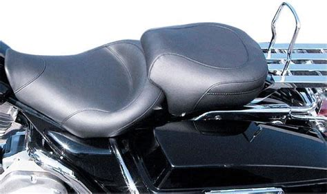 si 232 ge mustang wide touring smooth seat 75459 harley