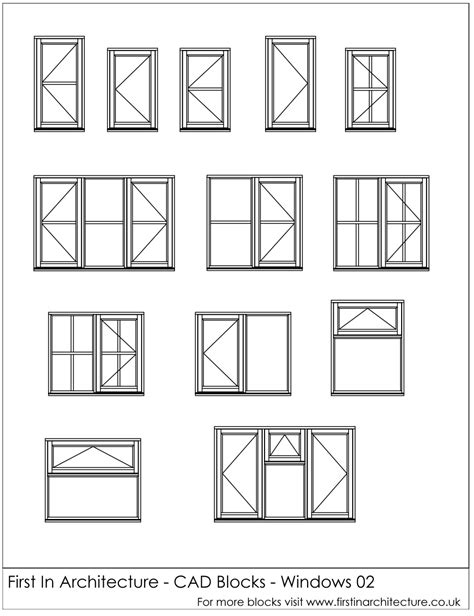window templates for autocad free cad blocks window elevations first in architecture