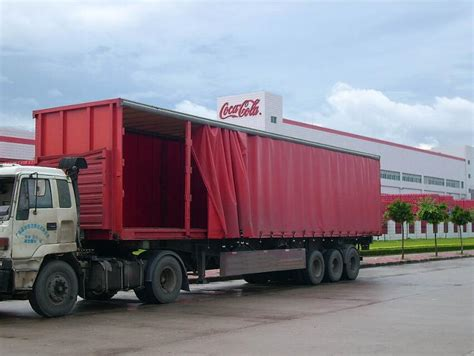 20 40 45ft Tautliner Curtain Side Trailer For Sale By