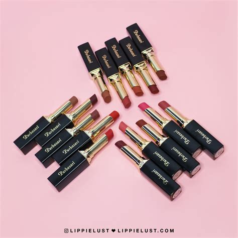 Lipstik Purbasari Liquid Matte swatched purbasari color matte lipstick review lippielust