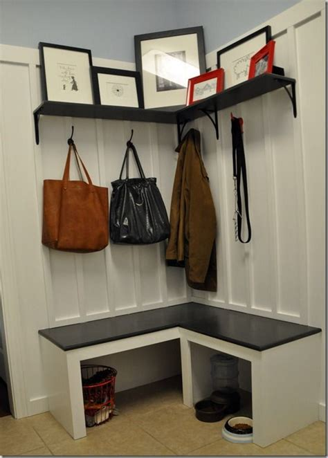 Small Entryway Stool 27 Best Small Corner Mudroom Images On Mudroom